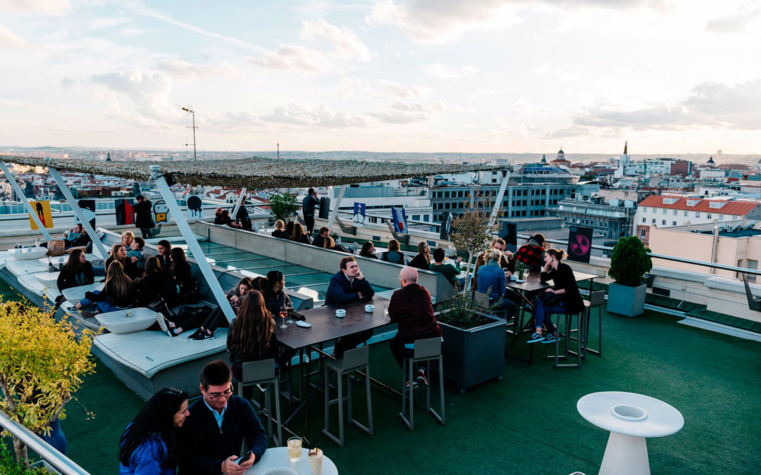 Madrid from a certain height: 5 amazing rooftop bars