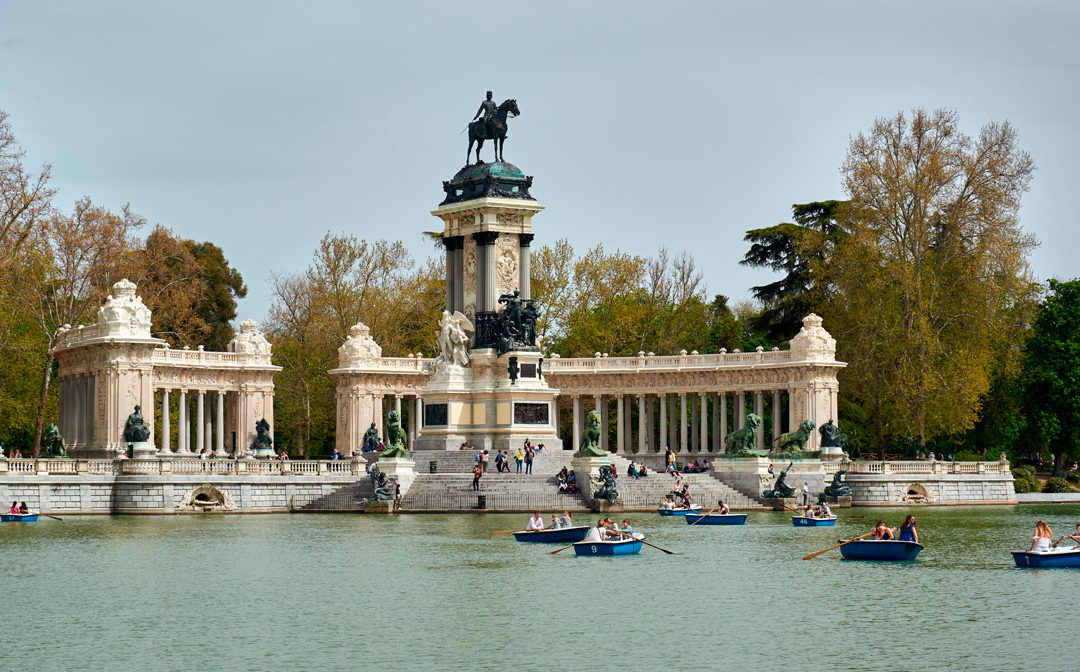 Parks and gardens to enjoy in Madrid
