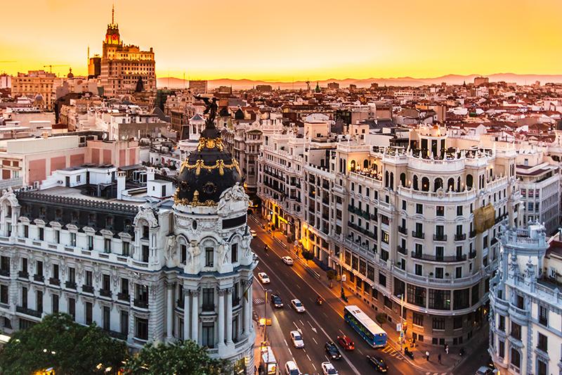 La Gran Vía: la calle más célebre de Madrid